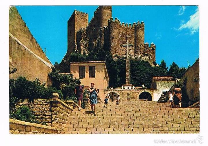 POSTAL ANTIGUA ALBACETE SIN CIRCULAR ALMANSA (Postales - España - Castilla la Mancha Moderna (desde 1940))