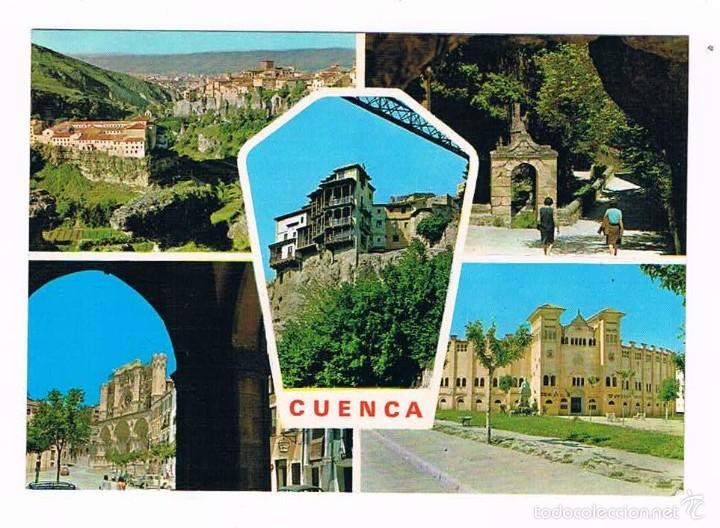 POSTAL ANTIGUA CUENCA SIN CIRCULAR (Postales - España - Castilla la Mancha Moderna (desde 1940))