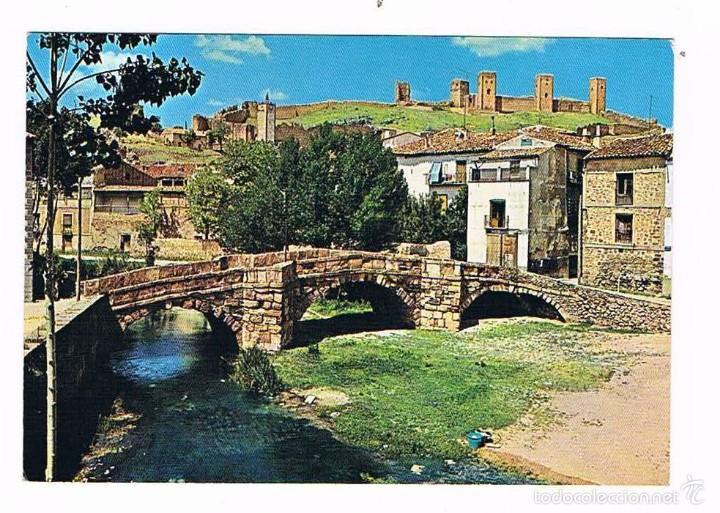 POSTAL ANTIGUA GUADALAJARA SIN CIRCULAR MOLINA DE ARAGON PUENTE ROMANO (Postales - España - Castilla la Mancha Moderna (desde 1940))