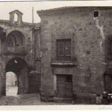 Postales: BONITA POSTAL - SIGUENZA (GUADALAJARA) - PUERTA DE LAS ANTIGUAS MURALLAS - VISTA INTERIOR . Lote 60299419
