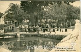 MANZANARES. VISTA GENERAL DEL PARTERRE. EDICION HAUSER Y MENET Nº 14 (Postales - España - Castilla La Mancha Antigua (hasta 1939))