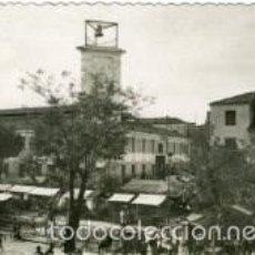 Postales: ALBACETE. PLAZA MAYOR (MERCADO AL AIRE LIBRE). EDICION GARCIA GARRABELLA Nº 16.. Lote 60669403