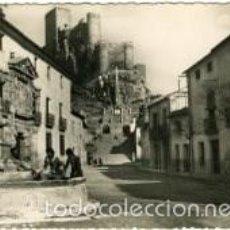 Postales: ALMANSA (ALBACETE). PLAZA DE SANTA MARIA. EDICION ARTES GRAFICAS SANCHEZ Nº 10. RARA.. Lote 60669599