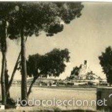 Postales: ALMANSA (ALBACETE). PANORAMICA. NOMBRE DE LA CIUDAD EN EL ANVERSO.. Lote 60669931