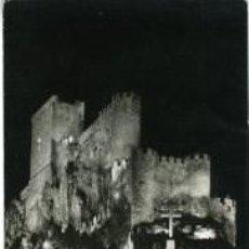 Postales: ALMANSA (ALBACETE). VISION NOCTURNA DEL CASTILLO. FOTO SANTANDREU. Lote 60670183