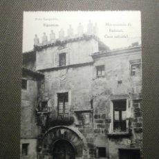 Postales: POSTAL - ESPAÑA - GUADALAJARA - SIGUENZA - MARQUESADO DE BEDMAR - FOTO LEOPOLDO - HAUSER Y MENET. Lote 61111795