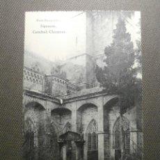 Cartes Postales: POSTAL - ESPAÑA - GUADALAJARA - SIGUENZA - CATEDRAL: CLAUSTROS - HAUSER Y MENET. Lote 61112159