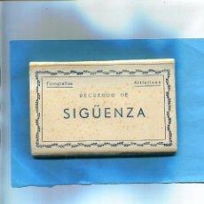 Postales: BLOCK EN ACORDEON ' RECUERDO DE SIGÜENZA ' - 10 POSTALES ( NOV1 ). Lote 61123179