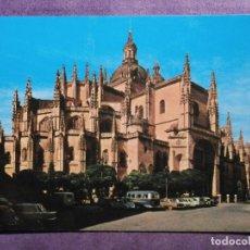 Postales: POSTAL - ESPAÑA - SEGOVIA - 2036 LA CATEDRAL - EDICIONES ARRIBAS. Lote 61780716
