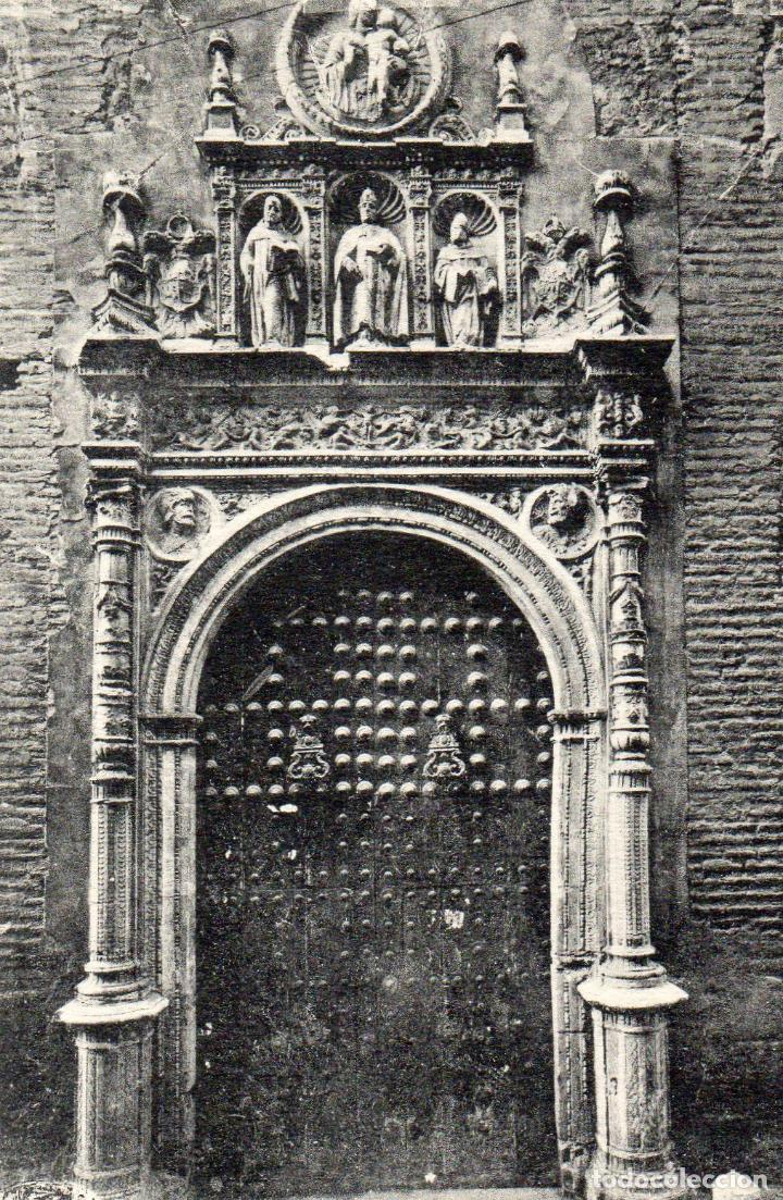 TOLEDO. PORTADA DE SAN CLEMENTE. NO ESCRITA (Postales - España - Castilla La Mancha Antigua (hasta 1939))