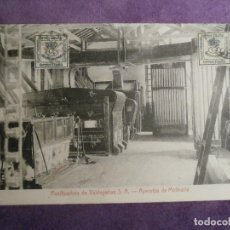 Postales: POSTAL - ESPAÑA - CIUDAD REAL - PANIFICADORA DE VALDEPEÑAS S.A. - APARATOS DE MOLINERÍA, FOTO PRIETO. Lote 62272820