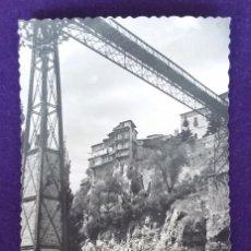 Postales: POSTAL DE CUENCA. N°2 PUENTE DE SAN PEDRO Y CASAS COLGANTES. EDI.GARCIA GARRABELLA. AÑOS 50.. Lote 62275704