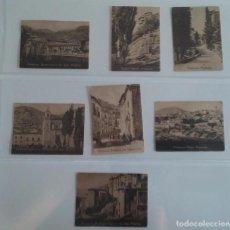 Postales: LOTE DE 7 CROMOS POSTAL CON PAISAJES DE CUENCA. Lote 62619768