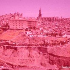 Postales: DIAPOSITIVA ESPAÑA TOLEDO VISTA GENERAL 1965 GEVACOLOR 35MM SLIDE PHOTO FOTO SPAIN. Lote 62862832