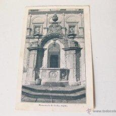 Postales: POSTAL DEL ALJIBE DEL MONASTERIO DE UCLES. CUENCA. Lote 64966931
