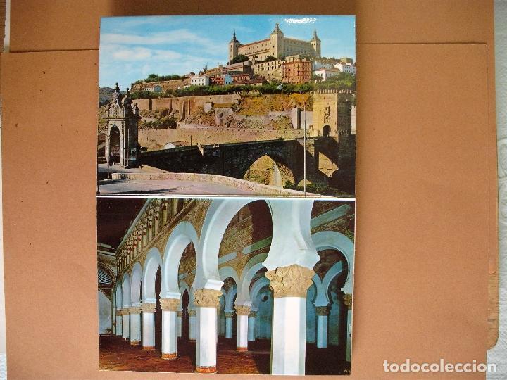 Postales: POSTAL ,TOLEDO.20 POSATALES, JULIO DE LA CRUZ - Foto 3 - 65555226