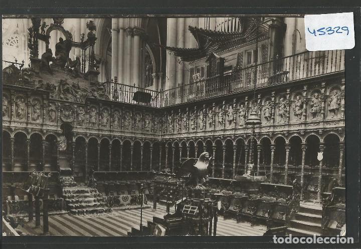 TOLEDO - 81 - CATEDRAL - LINARES - FOTOGRAFICA -VER REVERSO - (45.329) (Postales - España - Castilla La Mancha Antigua (hasta 1939))