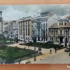 Postales: POSTAL A COLOR PLAZA DEL CAUDILLO ALBACETE. Lote 66926674