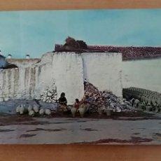 Postales: POSTAL ALFARERIA Y PAISAJE MANCHEGO, MOTA DEL CUERVO, CUENCA. Lote 66927386
