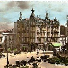 Postales: ALBACETE.- PLAZA DEL CAUDILLO Y GRAN HOTEL. Lote 122223528