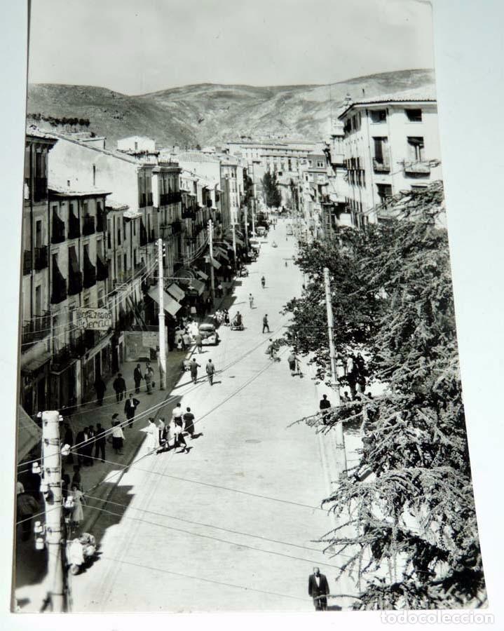 FOTO POSTAL DE CUENCA, Nº 31, AVENIDA JOSE ANTONIO, ED. ARTISTICA ESPAÑOLA, NO CIRCULADA. (Postales - España - Castilla La Mancha Antigua (hasta 1939))