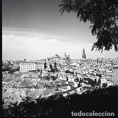 Postales: NEGATIVO ESPAÑA TOLEDO ALCÁZAR 1970 KODAK 55MM GRAN FORMATO NEGATIVE SPAIN PHOTO FOTO. Lote 69912377