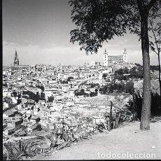 Postales: NEGATIVO ESPAÑA TOLEDO 1970 KODAK 55MM GRAN FORMATO NEGATIVE SPAIN PHOTO FOTO. Lote 69914177