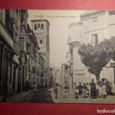 Postales: POSTAL - ESPAÑA - TOLEDO - CALLE DE SANTO TOMÉ - PAPELERIA FERNÁNDEZ - 22 - . Lote 71762291