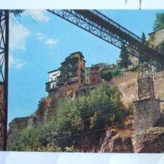Postales: POSTAL CUENCA - PUENTE DE SAN PABLO Y CASAS COLGADAS - 1967 - OSCAR COLOR 14 - SIN CIRCULAR. Lote 73998955
