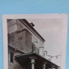 Postales: TARJETA POSTAL TOLEDO, IGLESIA SANTO DOMINGO EL REAL. 6 NOVIEMBRE 1942. CIRCULADA TOLEDO A GRANADA.. Lote 74747551