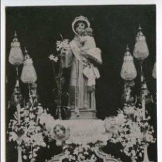 Postales: IMAGEN DE SAN ANTONIO QUE SE VENERA EN LA VILLA DE VALVERDE DE JÚCAR, CUENCA. Lote 74964319