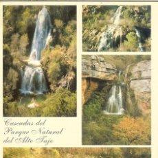Cartes Postales: POSTAL SIN CIRCULAR - CASCADAS DEL PARQUE NATURAL DEL ALTO TAJO (GUADALAJARA) - Nº 6 - FERKA. Lote 75041683