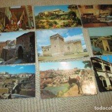 Postales: TOLEDO, LOTE DE 9 POSTALES COLOR. Lote 76497043