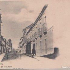 Postales: CIUDAD REAL - CALLE DE TOLEDO. Lote 76815571