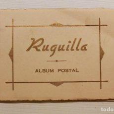 Postais: ÁLBUM POSTAL DE RUGUILLA, GUADALAJARA, 15 POSTALES, COMPLETO. Lote 77098797