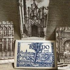 Postales: ANTIGUO ACORDEÓN CARPETILLA TOLEDO PRIMERA SERIE. Lote 78126213