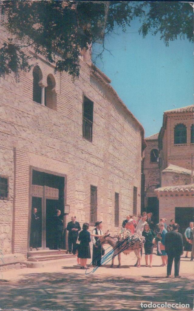 POSTAL TOLEDO . SINAGOGA DEL TRANSITO Y CASA DEL GRECO - 8 ARRIBAS - FOURNIER (Postales - España - Castilla la Mancha Moderna (desde 1940))