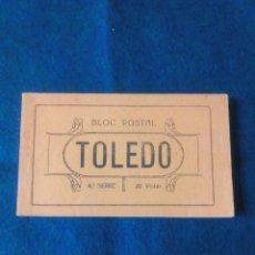 Postales: TOLEDO .- BLOC POSTAL .- 4ª SERIE .- 20 VISTAS .- EDICION GRAFOS. Lote 79644105