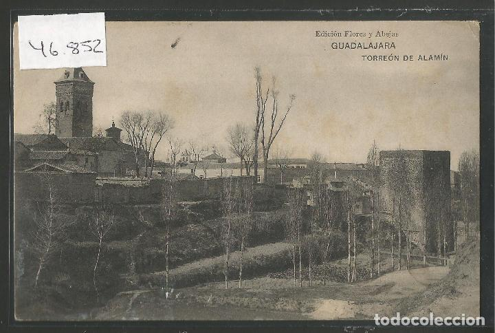 GUADALAJARA - TORREON DE ALAMIN -VER REVERSO -(46.852) (Postales - España - Castilla La Mancha Antigua (hasta 1939))