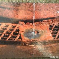 Postales: POSTAL CIUDAD REAL PUERTOLLANO DETALLE FUENTE AGRIA. Lote 80263745