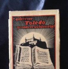 Postales: LIBRITO 12 POSTALES.TOLEDO. QUIERE CONOCER TOLEDO? EDICIONES CAYON. SERIE 2. Lote 81203204