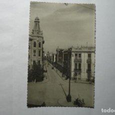 Postales: POSTAL ALBECETE . CALLE TESIFONTE GALLEGO CM. Lote 82135520
