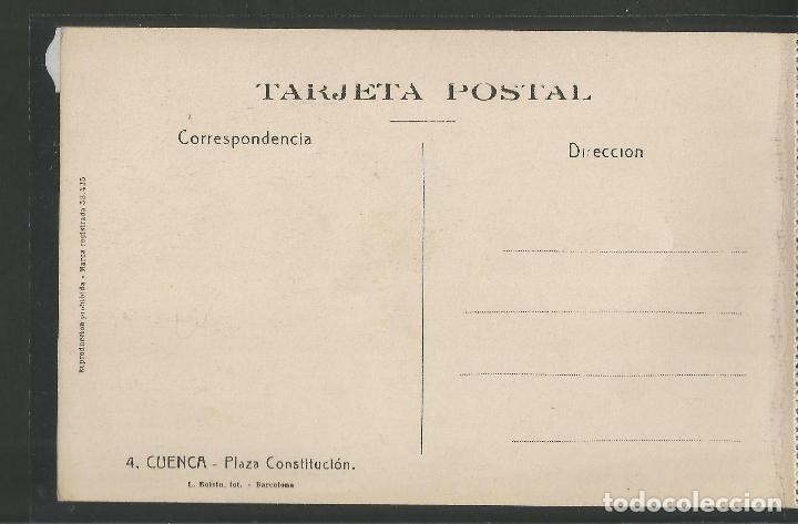 Postales: CUENCA - 4- PLAZA CONSTITUCION - ROISIN -VER REVERSO-(47.408) - Foto 2 - 82497932