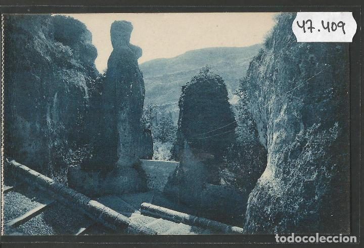CUENCA - 5- BAJADA DE LAS ANGUSTIAS - ROISIN -VER REVERSO-(47.409) (Postales - España - Castilla La Mancha Antigua (hasta 1939))