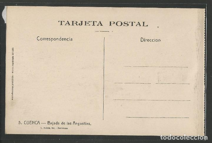 Postales: CUENCA - 5- BAJADA DE LAS ANGUSTIAS - ROISIN -VER REVERSO-(47.409) - Foto 2 - 82498008