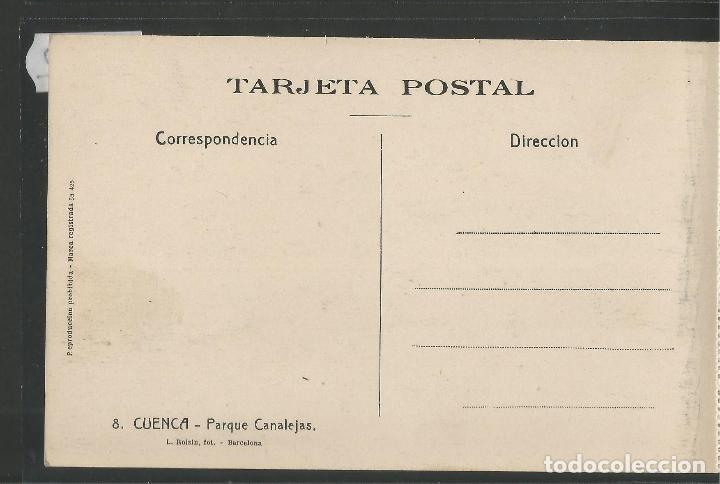 Postales: CUENCA - 8- PARQUE CANALEJAS - ROISIN -VER REVERSO-(47.412) - Foto 2 - 82498304
