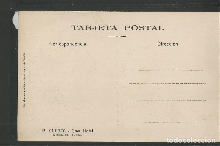 Postales: CUENCA - 13- GRAN HOTEL - ROISIN -VER REVERSO-(47.416) - Foto 2 - 82498464