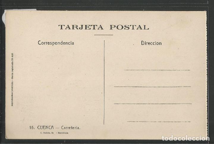 Postales: CUENCA - 15 - CARRETERIA - ROISIN -VER REVERSO-(47.418) - Foto 2 - 82498664