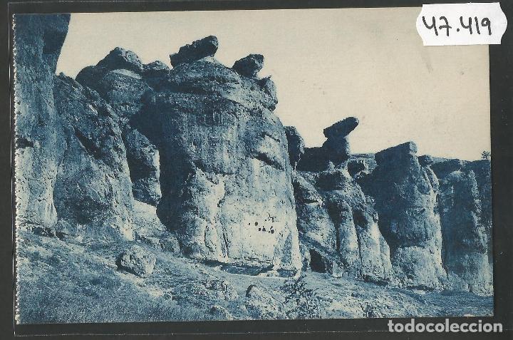 CUENCA - 16- ROCAS ARTISTICAS - ROISIN -VER REVERSO-(47.419) (Postales - España - Castilla La Mancha Antigua (hasta 1939))