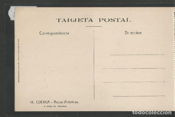 Postales: CUENCA - 16- ROCAS ARTISTICAS - ROISIN -VER REVERSO-(47.419) - Foto 2 - 82498776